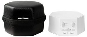 LectroFan White Noise Machine with Travel Case